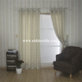 2016 top sell 100% Polyester Linen Touching Window Curtain