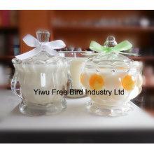 Venta al por mayor Glass Jar Fragrance Candles Exquisite