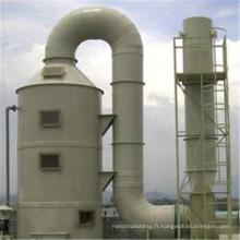 Gaz acide de tour d'épuration de FRP, traitement de gaz résiduel de gaz organique
