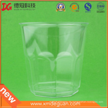 Fertigen Sie heißen Verkaufs-transparenten Glasbecher besonders an