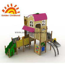 Pink Playground Equipement Playhouse en venta