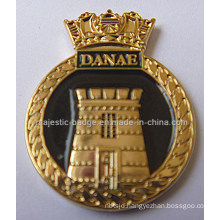 Customize Gold Plating & Soft Enamel Lapel Pin (MJ-PIN-134)