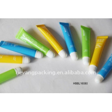 cosmetic lip balm tube