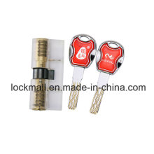 Transparent Blade Lock Core 8 Tracks Super C Level for Locksmith Training