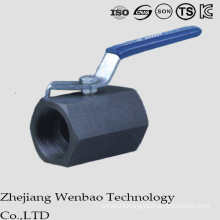 Reduced Bore Carbon Steel High Pressure Forged Ball Valve