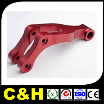 Custom Aluminium Anodisieren / Anodisieren / Anodisieren / Sandstrahlen Präzisions CNC Fräsen / Bearbeiten von Teilen