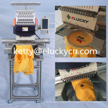 Manufacture price industrial embroidery machine with single heads 15 needles for sale