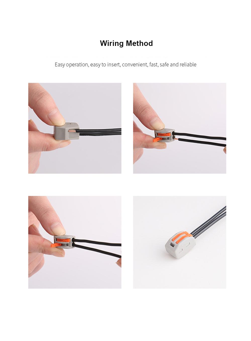 Plug-in type Terminal-Wiring Method