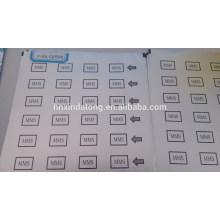 Embalaje farmacéutico de la medicina del papel de aluminio de la ampolla