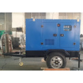 2 Wheels 15KW Mobile Trailer Generator Sets
