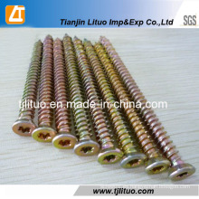 Tornillo de hormigón del acero de carbono del fabricante de Tianjin