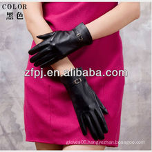 winter black fashion wholesale gloves for lady