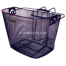 Mặt sau của Xy lanh Mesh Bottle Light-Off Bike Basket