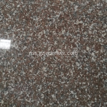 Digilap Red Sturdy Granite Slab Tile Wholesale