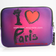 Popular Soft 13 Inch Purple Laptop Sleeves Neoprene