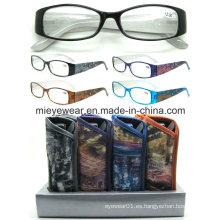 Vidrios de lectura vendedores calientes de moda de Eyewear (MRP21668)