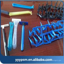 Vente chaude rasage rasoir triple lames jetables lame de rasoir rasoir en plastique injection pièces de moulage