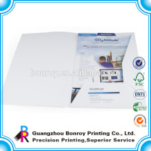 Benutzerdefinierte gedruckte Firmenpapierordner