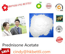for Rheumatoid Arthritis CAS 125-10-0 Pharmaceutical Intermediates Prednisolone Acetate