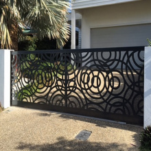 Mild Steel Laser Cut Gates and Fences