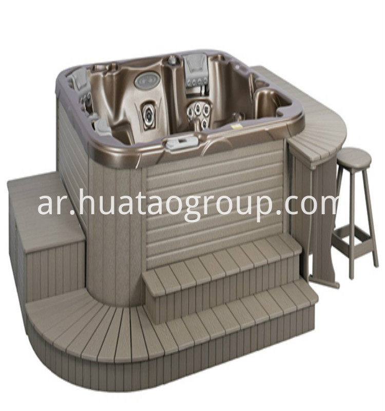 Durable Spa Ps Skirt Wood Plastic Board Huatao