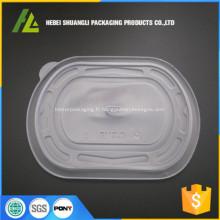 récipient en plastique de type pp emballage alimentaire congelé