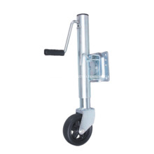 Trailer Jack with Rubber  solid Wheel