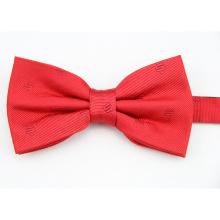 Hot sale fashion England Check Designs Woven Silk Men Bow Tie