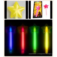 Хэллоуин светящаяся палочка со звездой