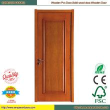 Porte de la salle PVC laminé porte en bois porte