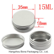 Wholesale Empty 100g Aluminum Cream Jar