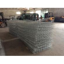 Gabion de tecelagem galvanizado eletro