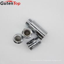 GutenTop accesorios de alta calidad de accesorios de tubería de cp de latón Pezón con níquel o cromo