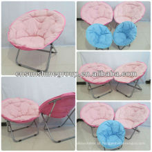 Washable folding moon chair for adults,portable round chair.