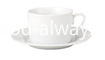 TEA CUP AND SAUCER 230CC