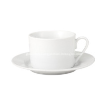 Basic White Tea Cup And Saucer 230cc