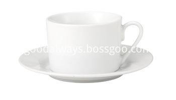 TEA CUP AND SAUCER 230CC