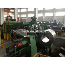 Bobine d'acier fente ligne haute qualité machine Chine célèbre marque