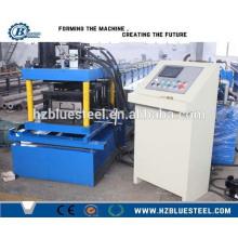 Máquina hidráulica de corte hidráulico CZ Profile Steel Purlin Roll Machine, máquina de purificação de canal C para venda