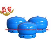 Cylindre de gaz de LPG et réservoir de gaz en acier pour le camping (2kg)