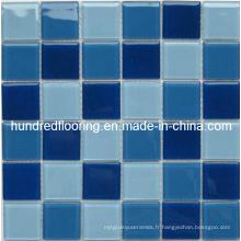 Mosaïque de piscine en mosaïque de verre de cristal (HSP302)