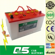 JIS-N90L 12V90AH, Super Dry Car Battery Auto Truck com Long Life Time