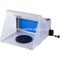 HS-E420K AC power airbrush extractor spray booth with air hose for spray painting