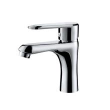 Wholesale bathroom single hole basin faucet brass basin sink faucet