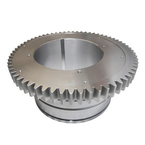 Factory Cnc Machined Steel Large Diameter Spur Gear