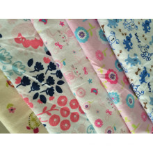 "100% cotton printed flannel fabric 20x10 40x42 42""/43"""