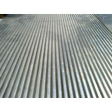 Feuillet en tôle d'aluminium revêtue de PVDF pour toiture