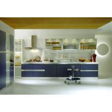 Blum color mfc armário de cozinha espaço de cozinha móvel para cozinha pequena