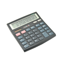 Dual Power Classic 12 Digital Office Desktop Calculator