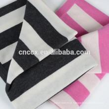 15BLT1021 cobertores de caxemira para crianças listradas